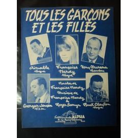 """FRANCOISE HARDY """" TOUS LES GARCONS """""""