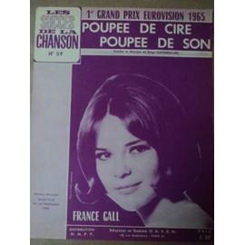 """FRANCE GALL """"POUPEE DE CIRE POUPEE DE SON """""""