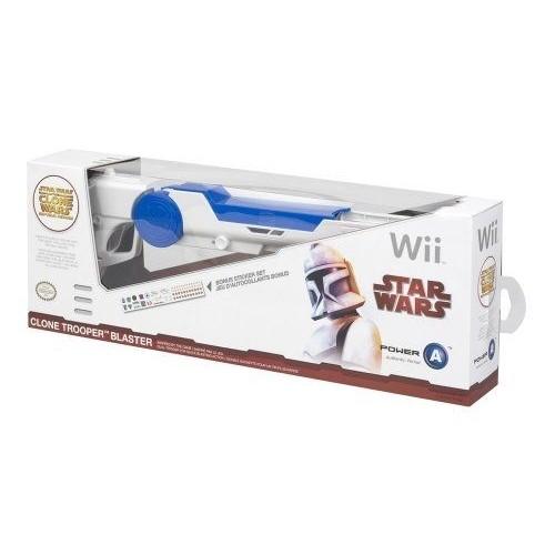 PowerA Star Wars Clone Trooper Blaster (Wii) [import anglais]