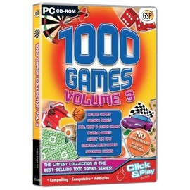 1000 Games Volume 3 (Pc Cd) Import Anglais Jeu Pc