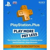 Playstation Plus - 365 Day Subscription