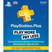 Playstation Plus - 90 Days Subscription