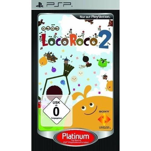 LOCOROCO 2 - PLATINUM [JEU PSP]