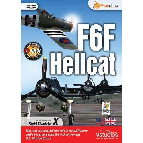 Playsims Publishing F6F Hellcat [import anglais] PC