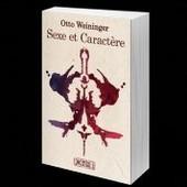 Sexe Et Caract�re de Otto WEININGER