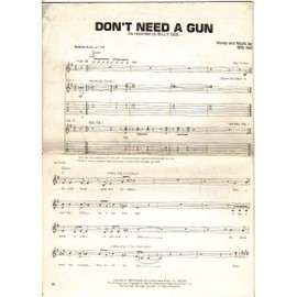 DON'T NEED E GUN / BILLY IDOL