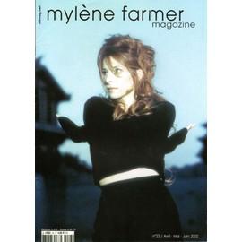 mylene farmer magazine no:23 avril/mai/juin 2002 avec poster a l interieur.