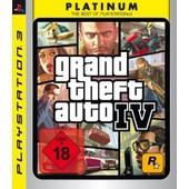 Gta - Grand Theft Auto 4 Platinum [Jeu Ps3]