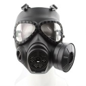 Masque De Protection Style Antivirus Masque � Gaz Pour Paintball