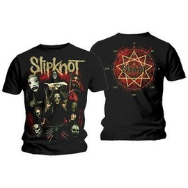T-shirt Slipknot Come play dying Official Merchandise