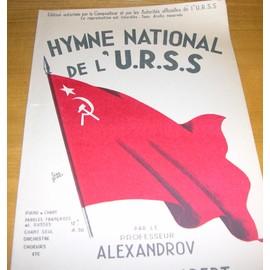 Hymne Nationale de l' U .R. S. S.