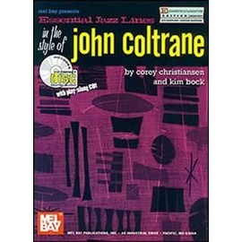 Essential Jazz Lines : Eb in the Style of John Coltrane + CD