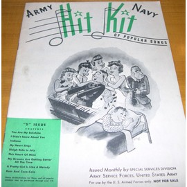 Army navy - Hit Kit Of Popular Songs - United States Army