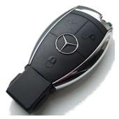 Coque Pour Cl� Mercedes, 3 Boutons