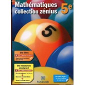 Mathematiques - Collection Zenius - Classe De 5� / Specimen Enseignant. de Brotreaud / Fort / Fourton / Perrinaud.