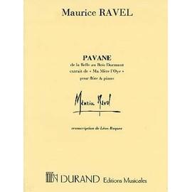 Ravel : Pavane de la Belle au bois dormant pour flûte et piano