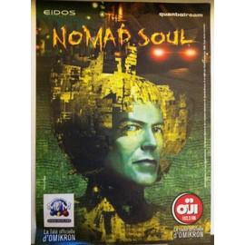 David Bowie The Nomad Soul Omikron affichette