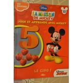 La Maison De Mickey - N�10 - Les Chiffres, Le Cinq de disney junior