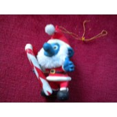 Schtroumpf De No�l Ancienne Figurine 1984 Alderbrook Peyo Collection Schtroumpfs Smurf The Smurf