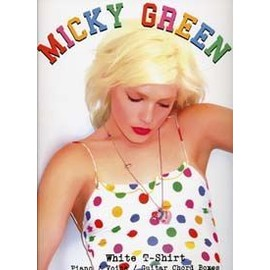 MICKY GREEN WHITE T-SHIRT PVG