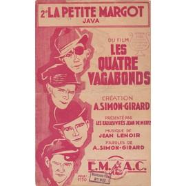 2° LA PETITE MARGOT JAVA du film Les quatres vagabonds