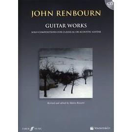 RENBOURN JOHN GUITAR WORKS CLASSIC OU ACOUSTIQUE + CD