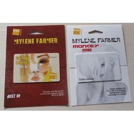 MYLENE FARMER/CARTE CADEAU FNAC/MONKEY ME