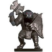 D&d Miniatures - Dungeons Of Dread - 8/60 - Orc Raider
