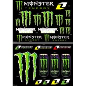 Sticker Moto Autocollant Monster Energy Format
