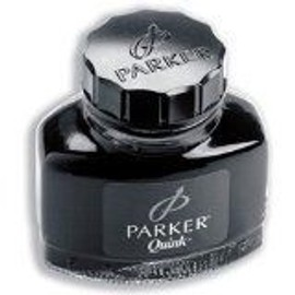 Parker Flacon D'encre Quink Z45, Contenu: 57 Ml, Noir