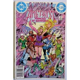 Amethyst Annual Double Size N�01 (Vo) 1984