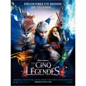 Les 5/Cinq L�gendes /Rise Of The Guardians-V�ritable Affiche De Cin�ma Pli�e - Format 120x160 Cm - De Peter Ramsey Avec Les Voix De Alec Baldwin, Hugh Jackman, Jude Law, Chris Pine, Isla Fisher -2012