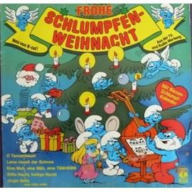 schlumpfen weihnacht + poster LP 12 1983 k-tel