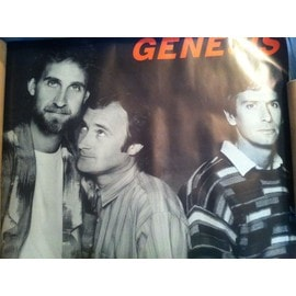 Poster promotionnel Genesis Invisible touch