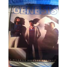Poster Genesis Atlantic Records & Tapes 1980's
