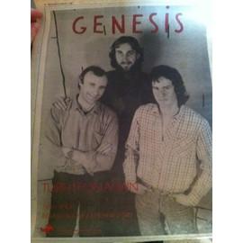 Genesis publicité journal fin 1970's-1980's