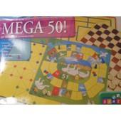 Mega 50 - Coffret 50 Jeux De Soci�t�