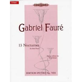 Fauré : 13 Nocturnes pour piano