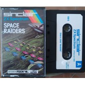Space Raiders (K7 Zx Spectrum 16/48k)