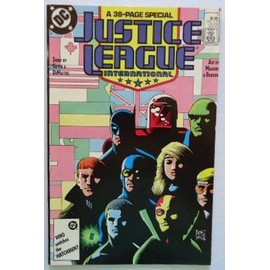 Justice League Double Size N�07 (Vo) 11/1987