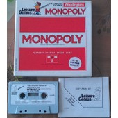 Monopoly (Leisure Genius) (K7 Zx Spectrum 48k)