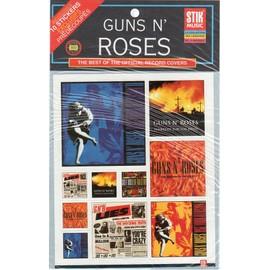 GUNS N' ROSES - 10 STICKERS PREDECOUPES