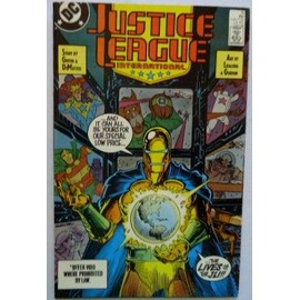 Justice League International N�15 (Vo) 07/1988