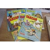 Lot 7 Tarzan 1970-7172 N�41-42-44-46-49-51-55