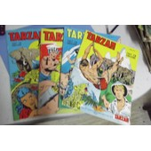 Lot 4 Tarzan 1969 N�35-36-38-39