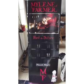 "MAXI PRESENTOIR MYLENE FARMER ""POINT DE SUTURE"" CD/VINYL"