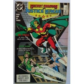 Secret Origins Of Justice League Double Size N�33 (Vo) 12/1988