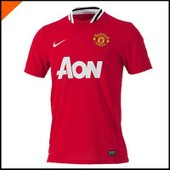 Maillot Manchester United Home 2011-2012 Rouge