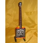 Guitare Miniature Michael Anthony Bass Jack Daniel's
