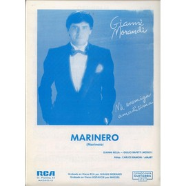 GIANNI MORANDI PARTITION ESPAGNOLE MARINERO
